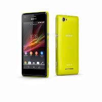 Sony Xperia M Yellow