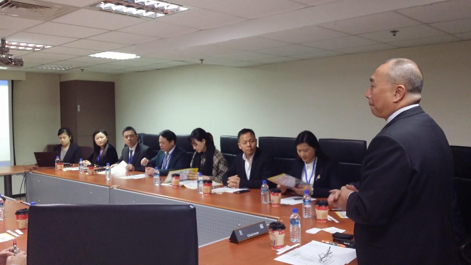 重慶市青年企業家協會訪問團