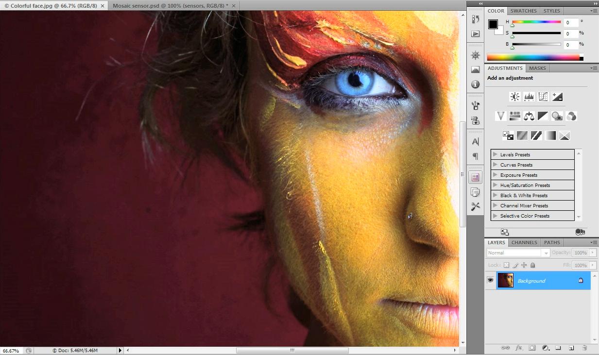 Adobe photoshop es el editor de imágenes profesional más utilizado
