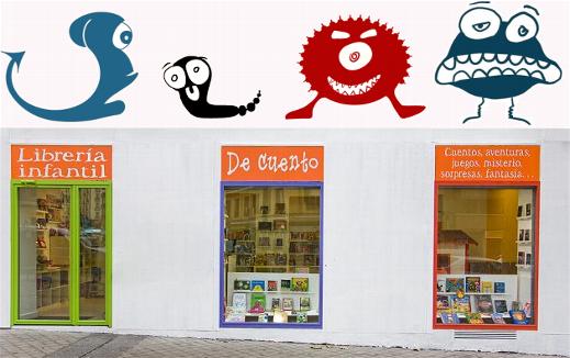 Bibliotecas para niños Madrid - De cuento
