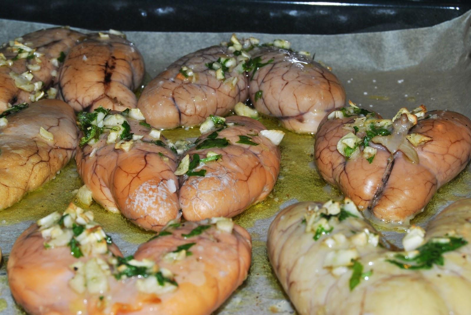 Como Cocinar Huevas De Merluza | Cocinando En La Fragua Huevas Al Horno