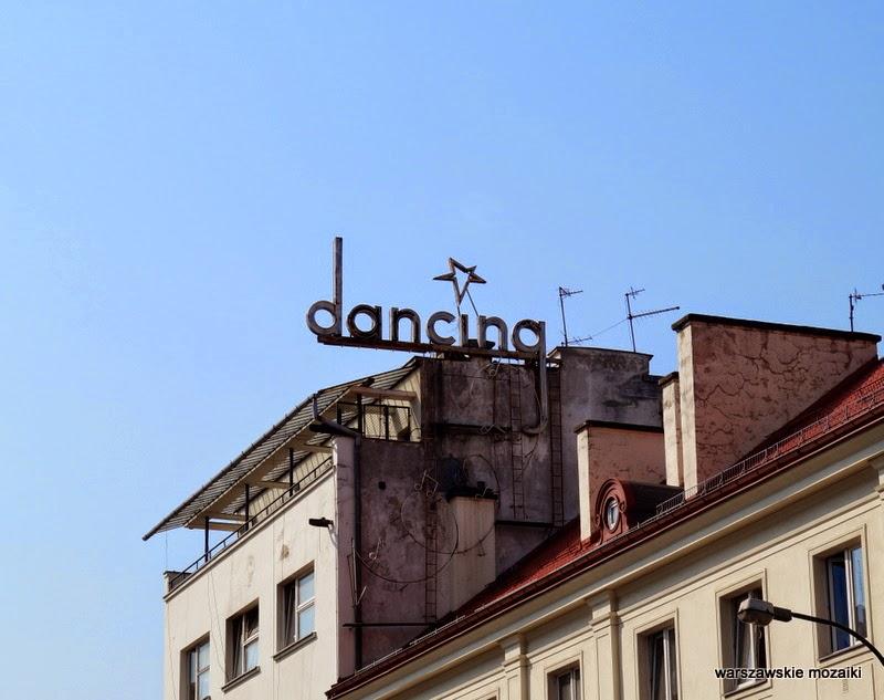 neon Warszawa Śródmieście Saska Kępa Mokotów warszawskie neony dancing