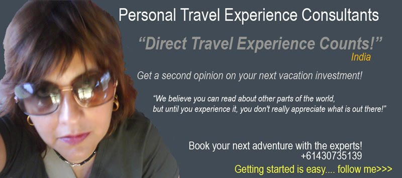 Personal Travel Experience Consultants India!