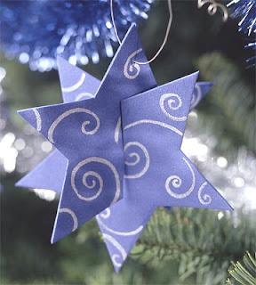 Estrellas 3D para decorar el árbol de navidad