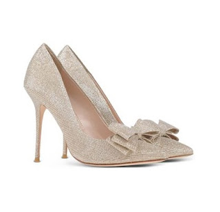 Lucy Choi Bow Heeled Pumps