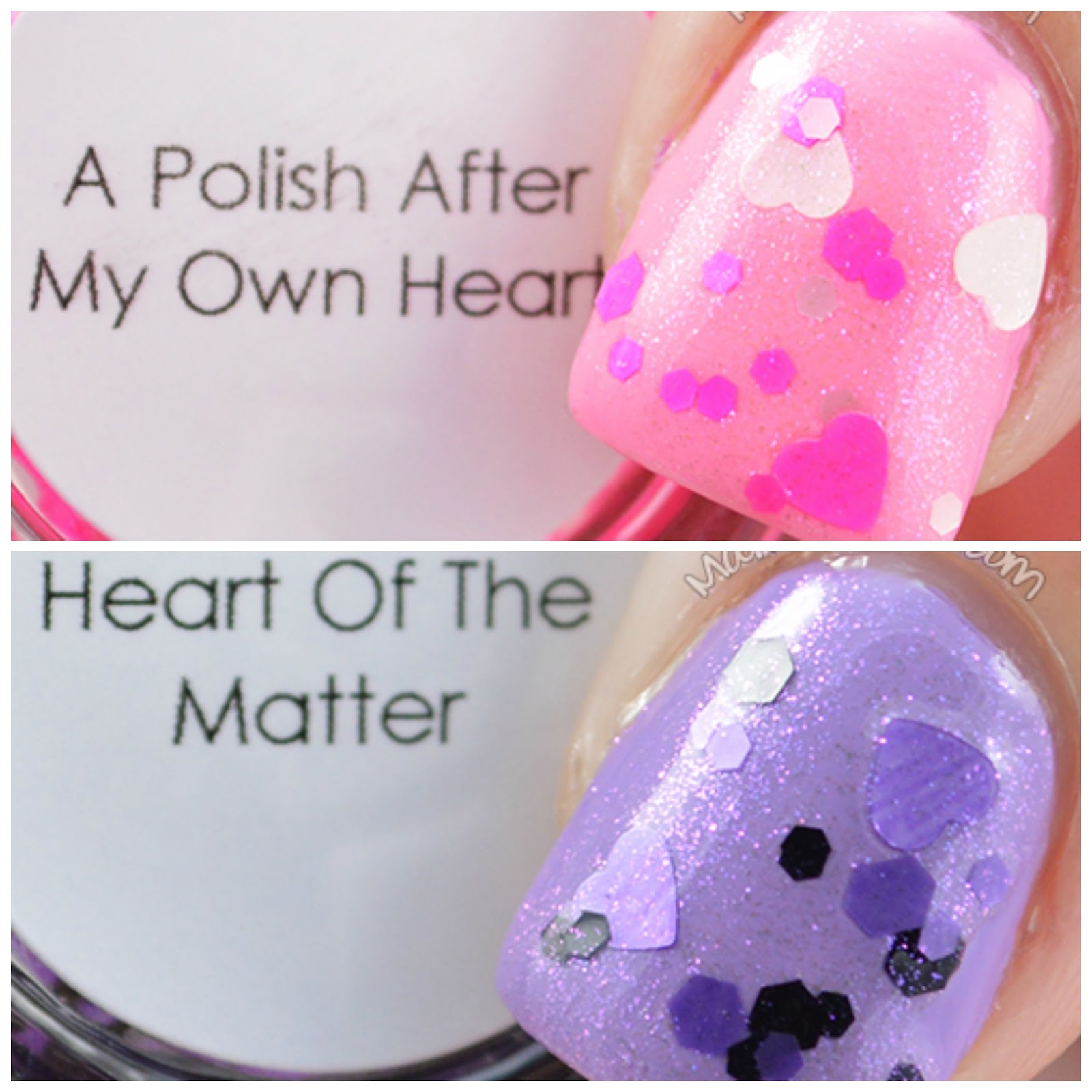 Quaint Paints Lacquer a polish after my own heart and heart of the matter