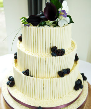 blueberry Wedding Cakes