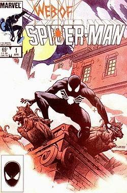 Web of Spider-Man #1 comic