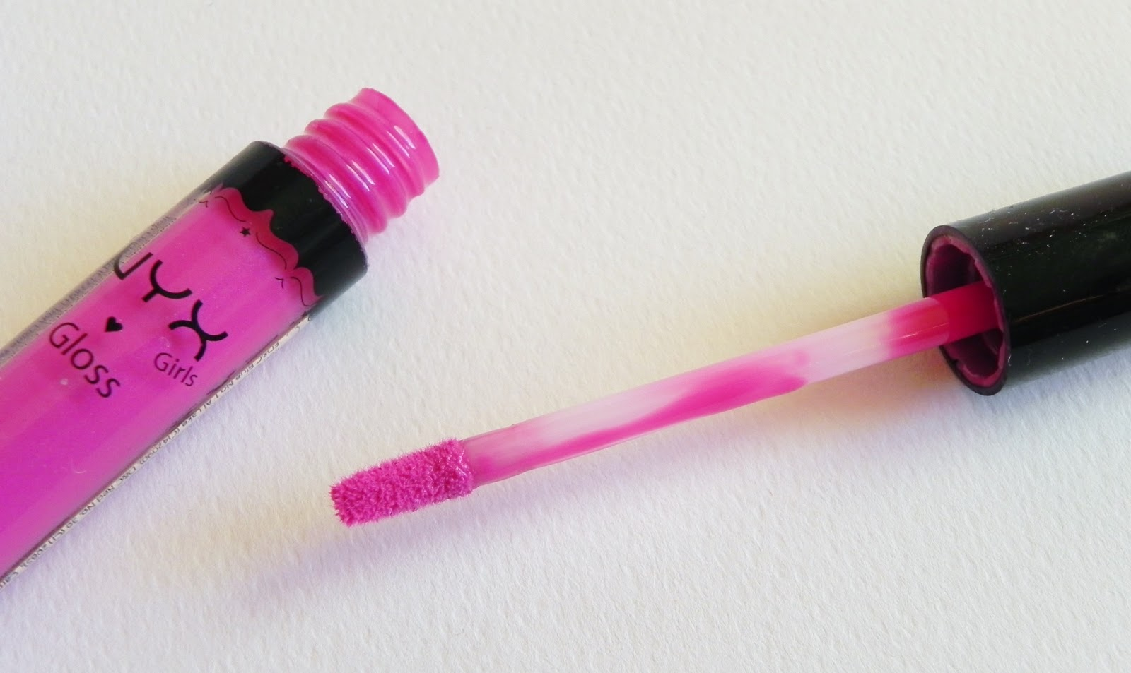 nyx girls round lip gloss doll pink review