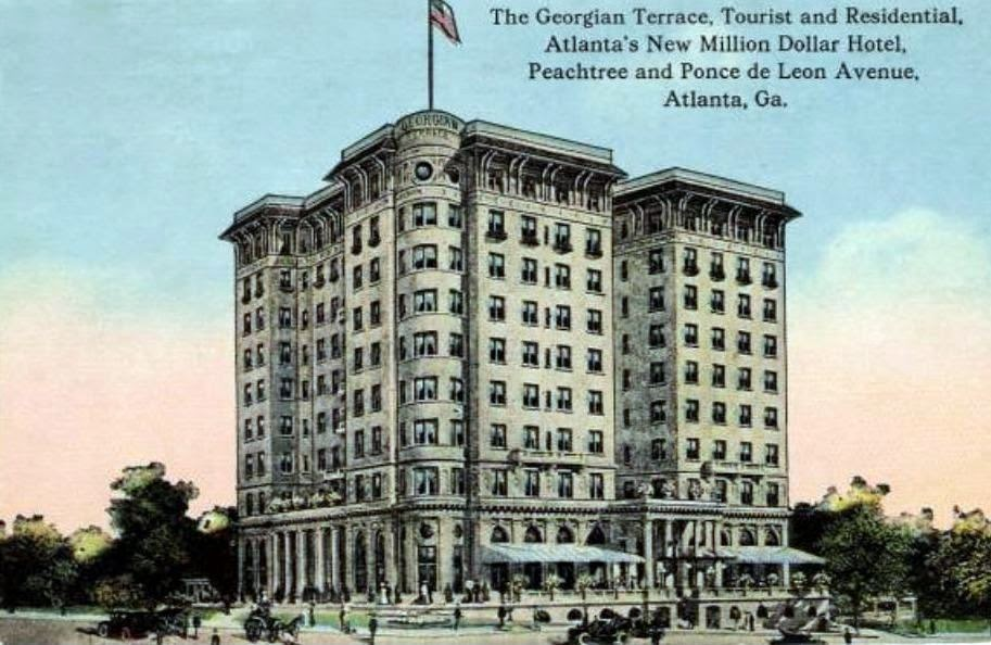 Touring Atlanta The Wonderful Georgian Terrace Hotel Part Two