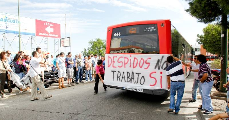 Agrupaci n servicios pca josefina samper ere autobuses - Empresas temporales zaragoza ...