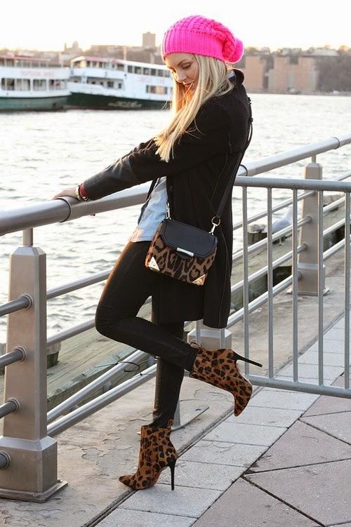 Atractivas botas de invierno