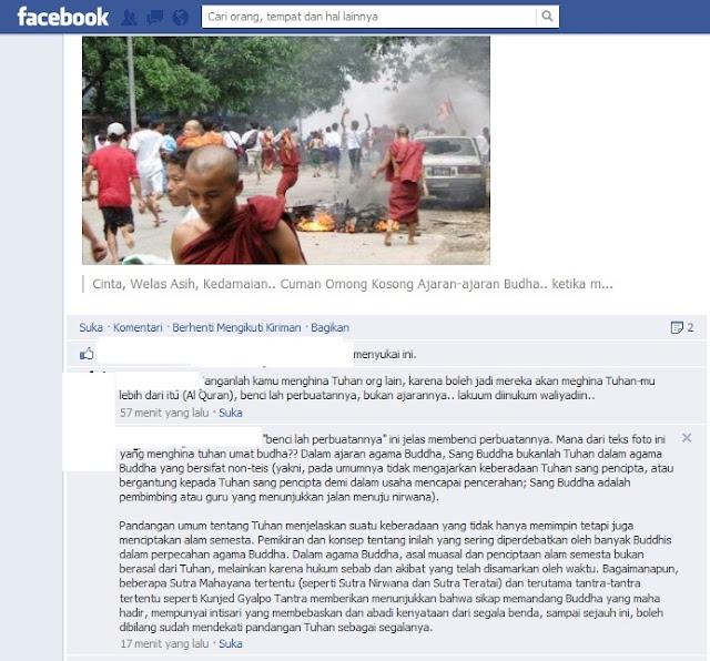 Berbagi Foto di Facebook Keadaan Umat Islam di Burma Saat Ini Malah diCerca Sesama Muslim, Kenyataan Umat Saat Ini