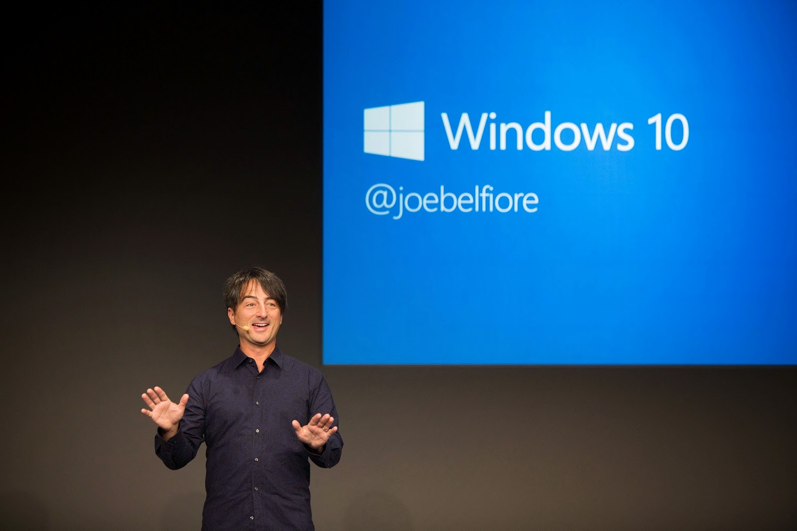 Joe Belfiore, windows 10