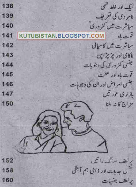 Contents of Suhag Raat Pdf Urdu Book
