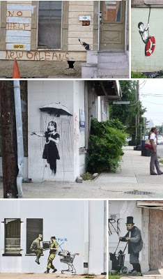Banksy Graffiti Art Galleries reality Habit 2