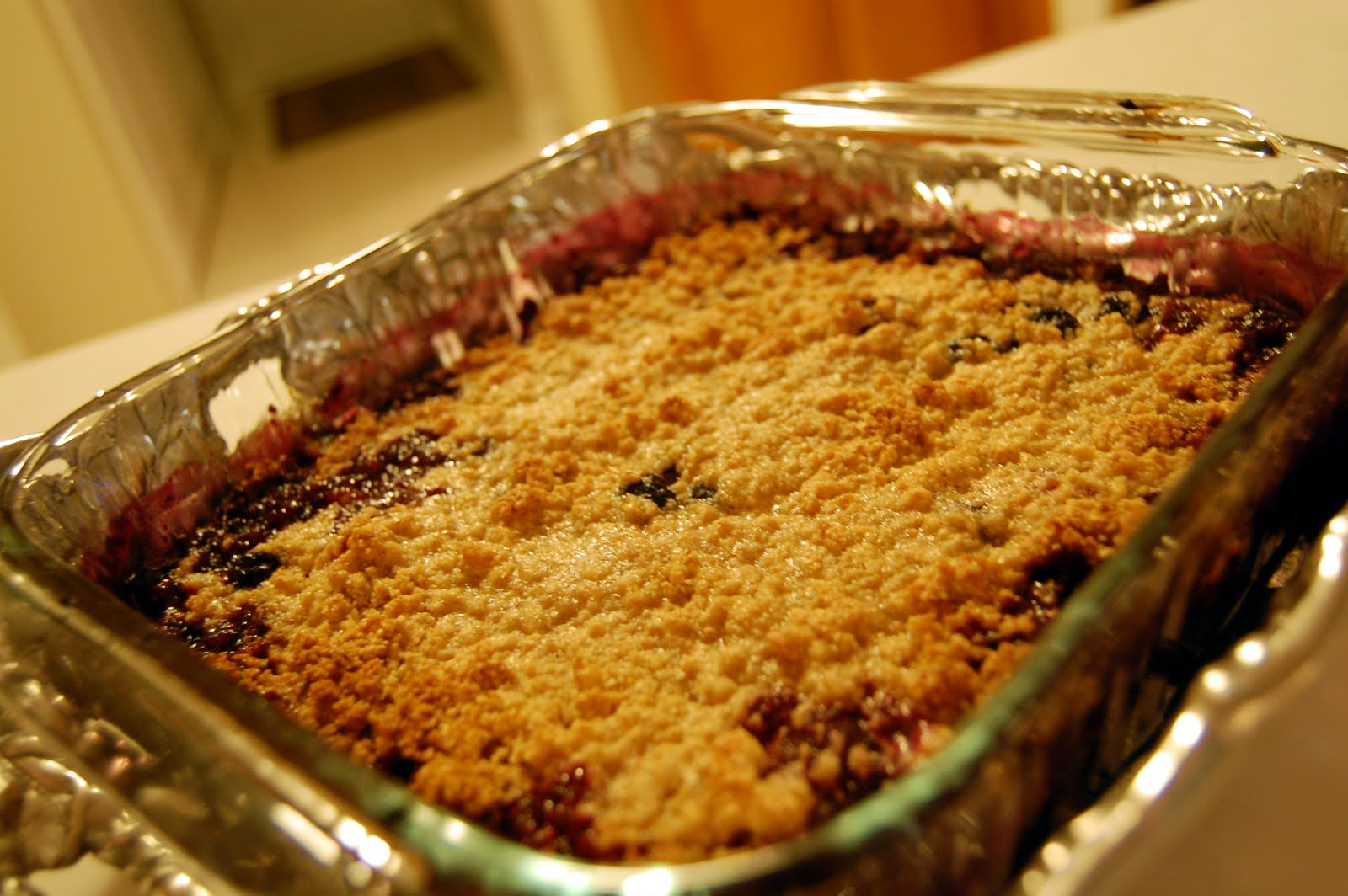 Healthy Cooking for a Picky Husband Berry Cobbler