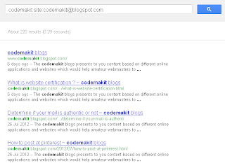 Limiting your Google searches to specific URLs.