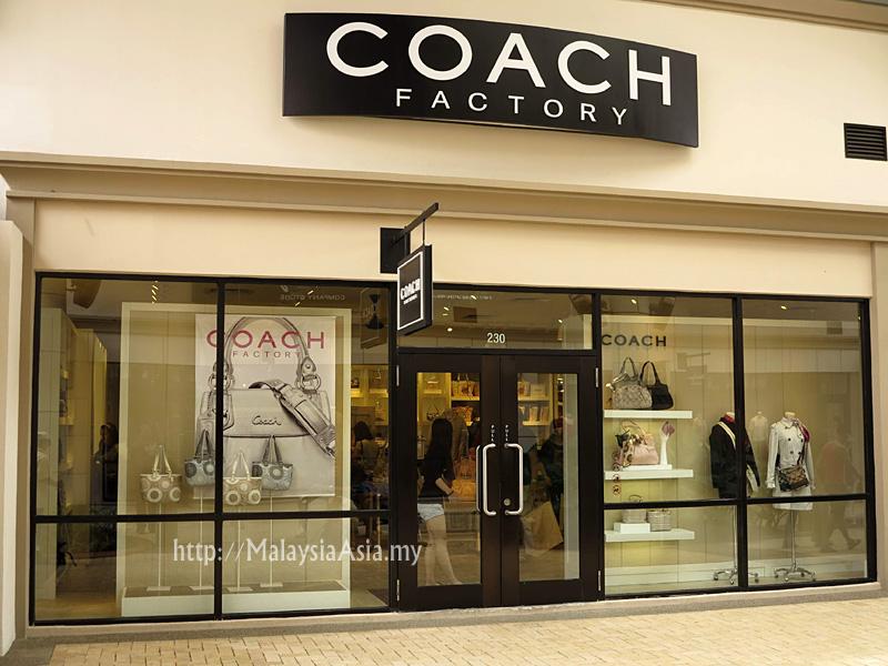 coach apparel outlet 6dk4  Coach Johor Premium Outlet