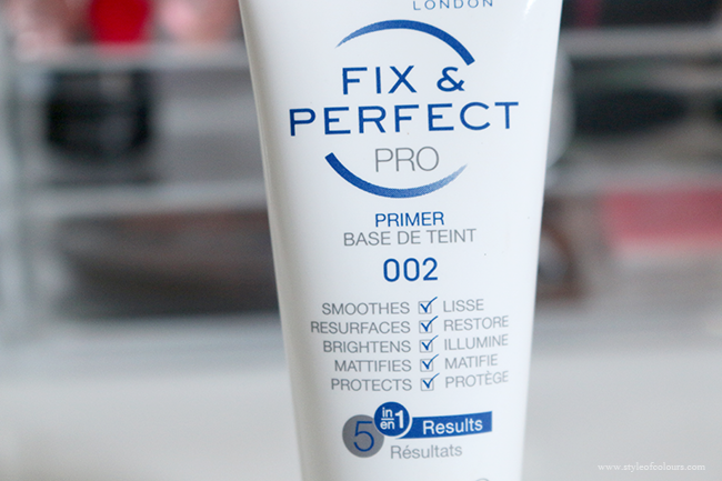 Rimmel Fix & Perfect Pro 5in1 Primer