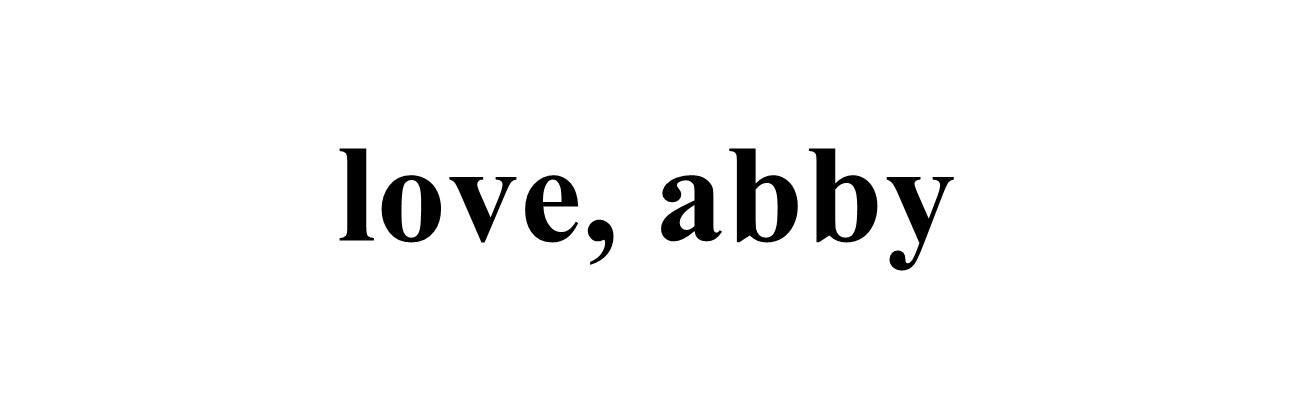 Love, Abby