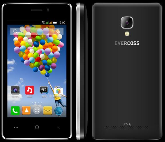 Upgrade Firmware Evercoss A74A Lollipop 51V05