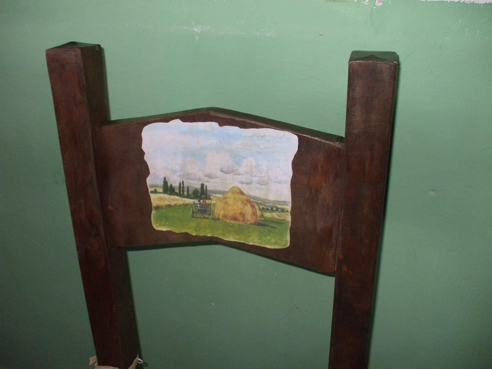 Sedie Decorate Fai Da Te : Creofacile: le mie sedie decorate col decoupage