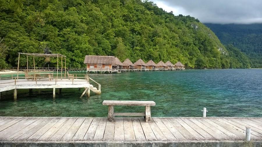 Resort di atas pantai