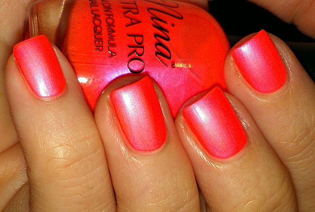 Pearly Peach Shimmer