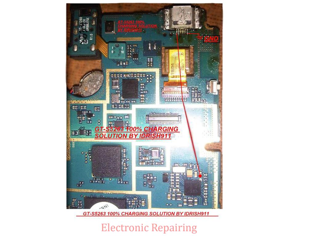 Samsung gt s5263 charging problem