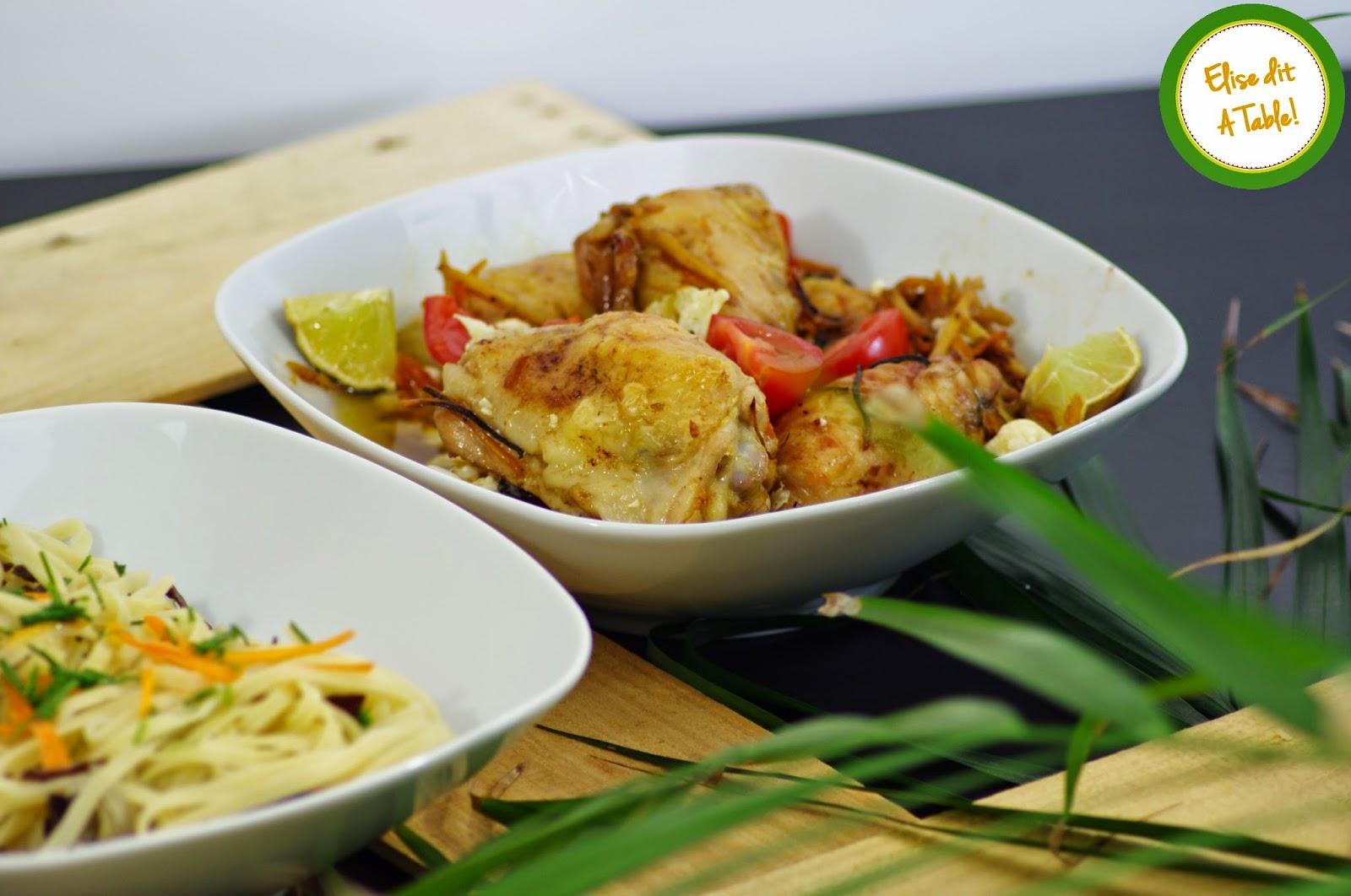 recette poulet gingembre