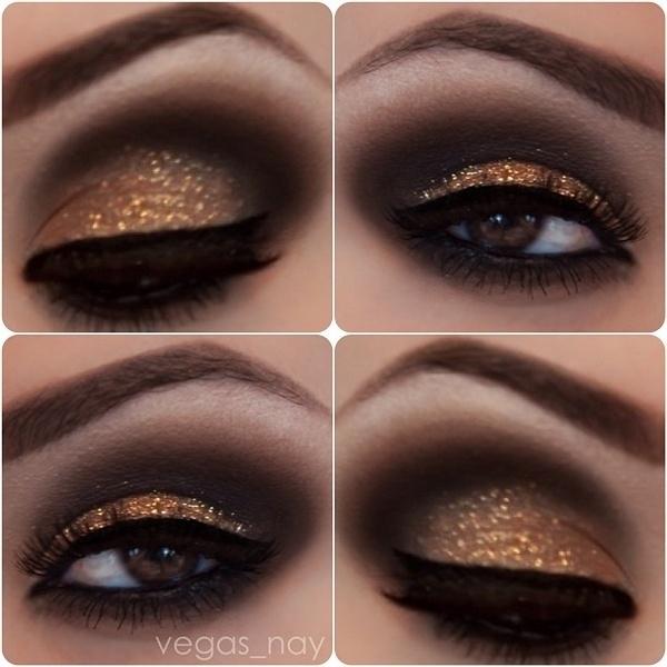 In Your Skin How To Wear Glitter Eyeshadow