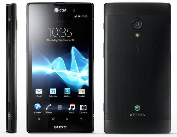 xperia ion at&t lte sony atnt