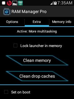 RAM Manager Pro V7.0.0 Apk