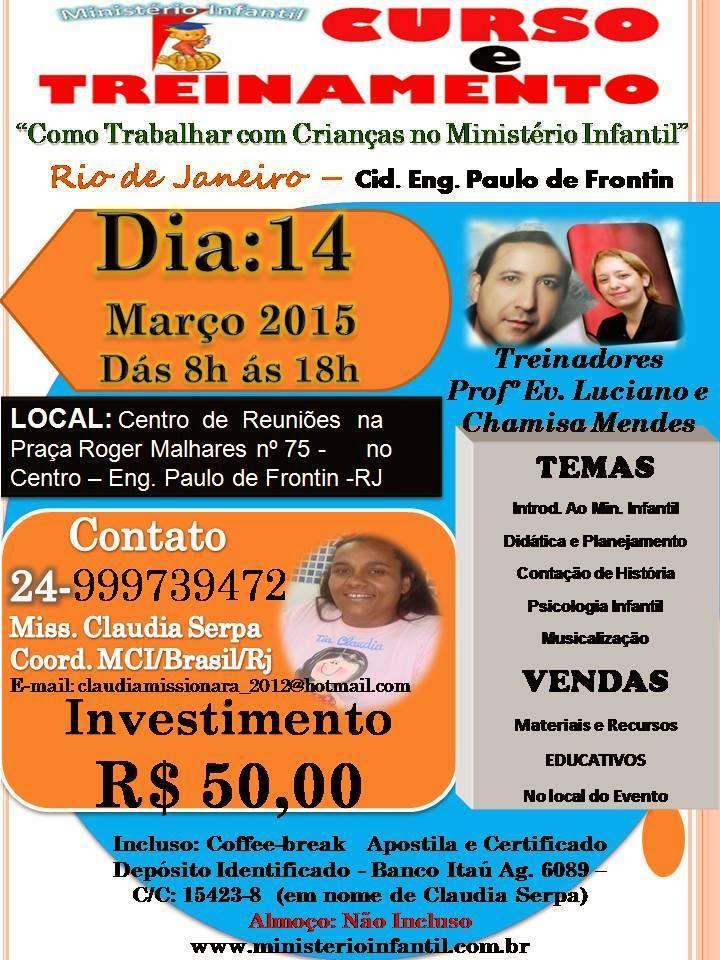 14 de Março em Engenheiro Paulo de Frontim/RJ.