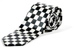 Chessboard Ska Skinny Tie