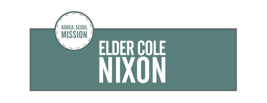 Elder Cole Nixon
