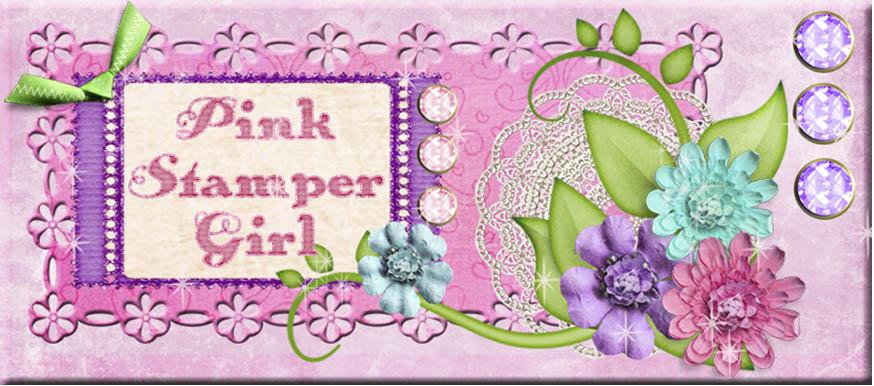 Pink Stamper Girl