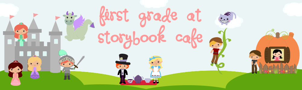 First Grade at Storybook Cafe