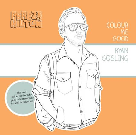 colour me good ryan gosling httpmaidenbigcartelcomproductryan gosling colouring in book - Thrill Murray Coloring Book