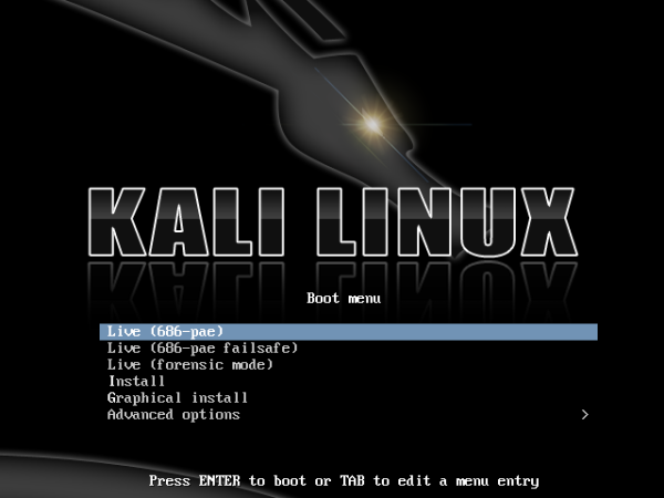 kali linux development