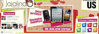Quiz Jajalindo Berhadiah iPad 2, Kamera Canon, dan Galaxy Y