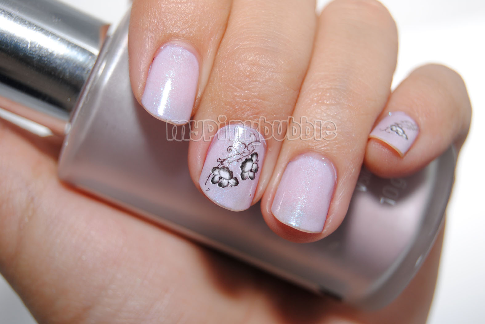 manicura water decals