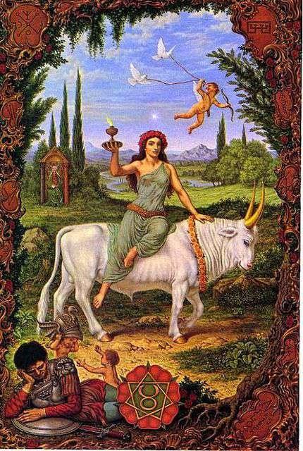 Signo de Tauro, Zodiaco Johfra Bosschart
