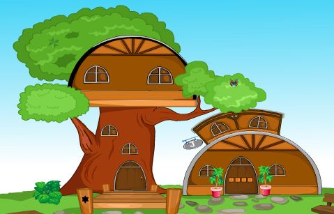 Play Games4King Tree House Esc…