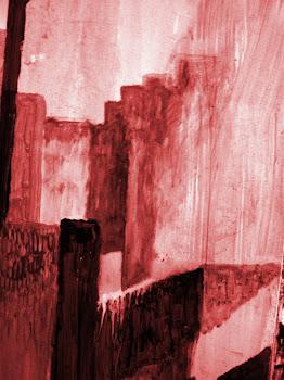 Ruinas en rojo