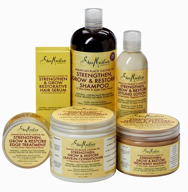 Shea Moisture Jamaican Black Castor Oil Masque Natural Hair