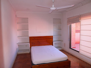 Dormitorio antes del Home Staging