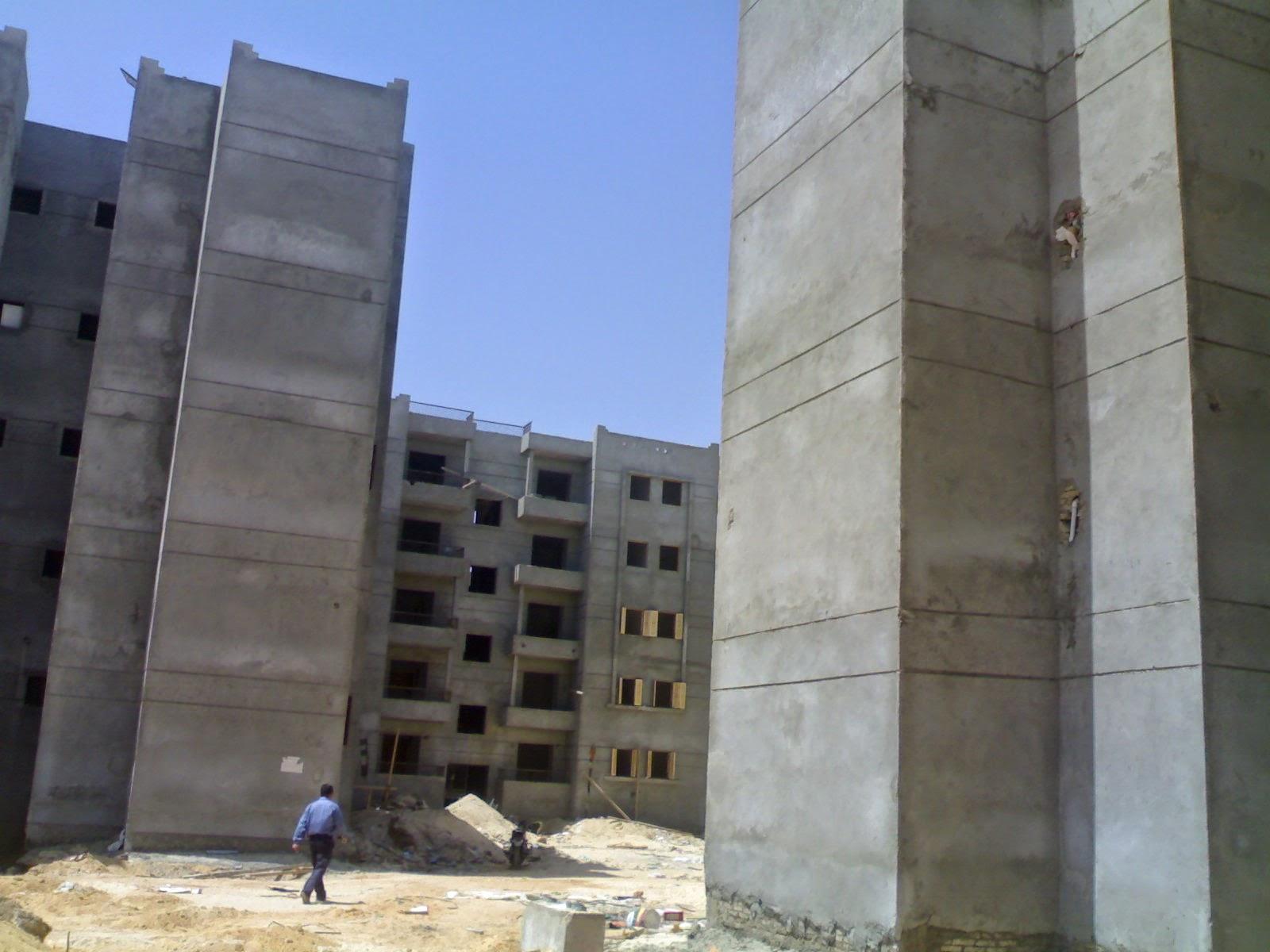 طرح 450 شقة تعاونيات بالعاشر