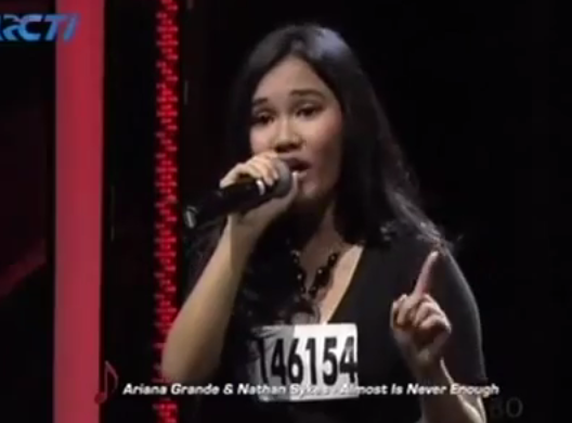 Janita Pangaribuan - Almost Never Enough Audisi XFactor 3 April 2015